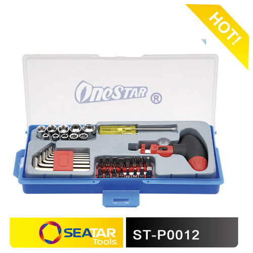"Professional Manufacturer of 39PCS 1/4"" DR. Different Tools and Equipment for Car Repairing"