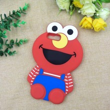 Fashion Cute Sesame Street Rubber Silicone Cell Mobile Phone Cases