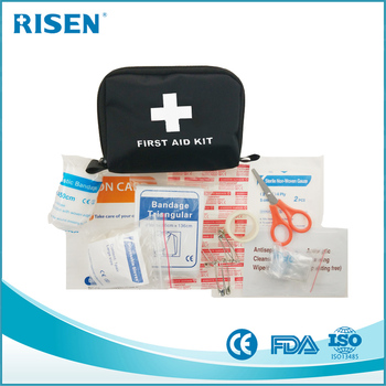 Cute hotel mini medical emergency first aid trauma bag kit for home