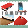 Colorful Leather Flip Case Cover Cell Phone Pouch for iphone 3G 4G 5G 5C 6 6 plus for ipod Touch 4 5