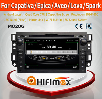HIFIMAX Android 4.4.4 Touch Screen GPS For Chevrolet AVEO LOVA (2007-2010)/Silverado(2007-2011) Car Radio Navigation System