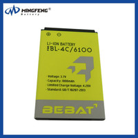 BL-4C Battery For Nokia 2690/3108/3500c/3806/6066/6088 mobile phone battery
