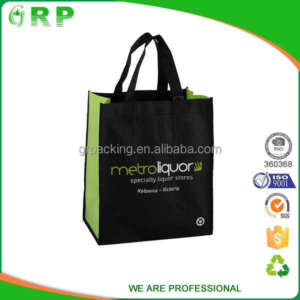 High quality eco nonwoven handled standard size 2017 shopping bag
