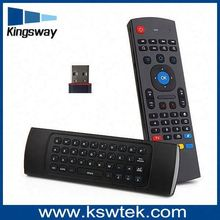 2.4ghz airmouse MX3 Air Mouse Wireless Keyboard + Voice for XBMC Android Mini PC TV Box