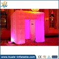 Portable LED lighting inflatable photo booth for advertising