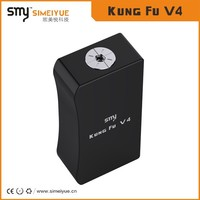 Hot box mod unregulated aluminum dual 18650 battery original smy Kungfu box