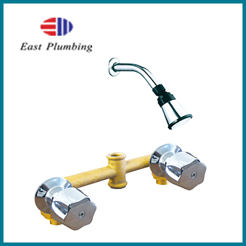 F8232 EASTPLUMBING F8232S SERIES 2-HANDLE SHOWER FAUCET WITH VALVE