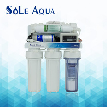 5 stages home pure water filter with TDS control box ro system