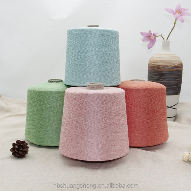 High quality 32s 85/15 polyester linen blended yarn