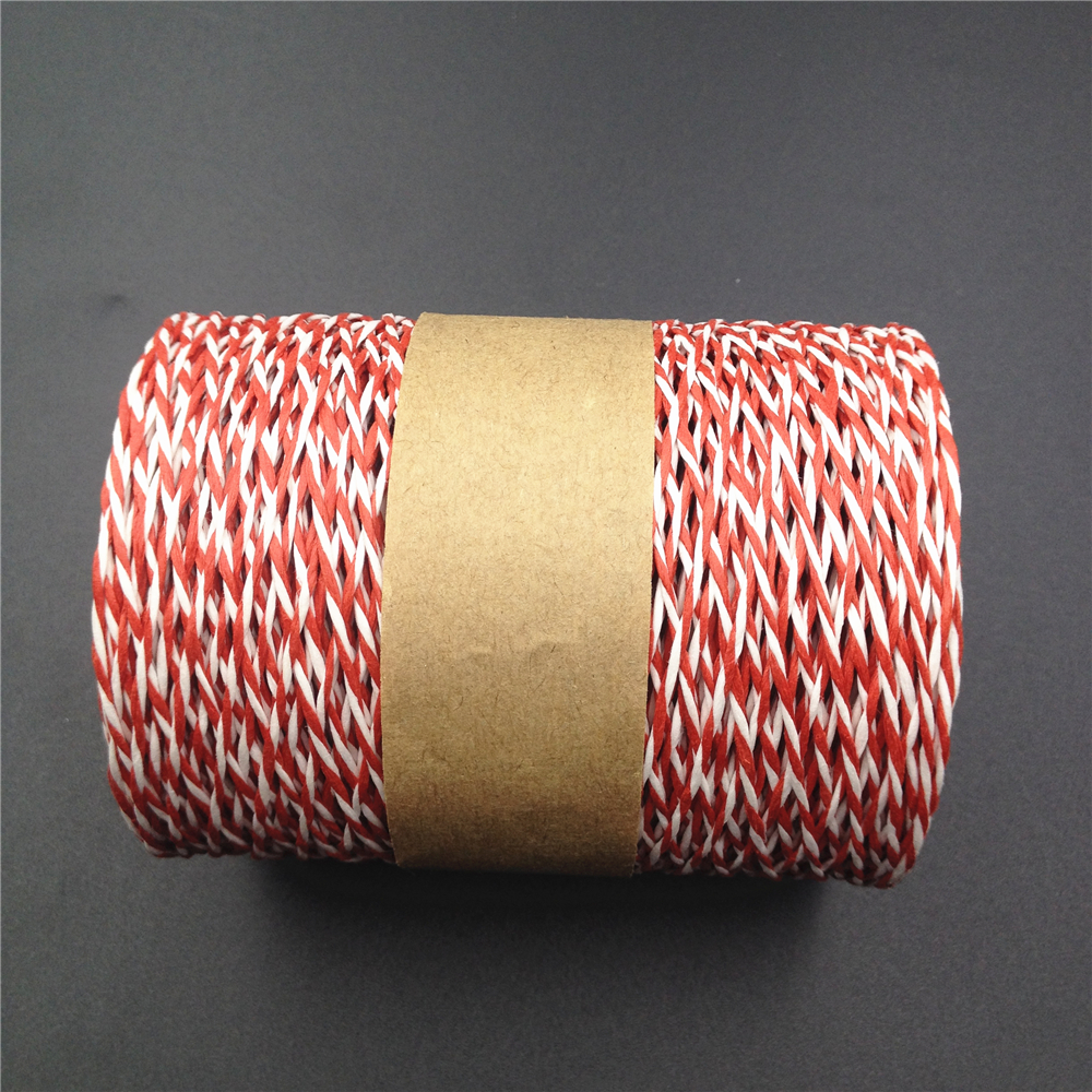 200 meters multi color raffia paper string ribbon for gift wrapping