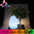 rechargeable waterproof multi-color led egg table lamp