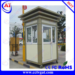 Modern shape frame and look and rustproof &flexible mobile sentry box