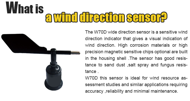 Macsensor -20ma 4 wind direction sensor for tower crane