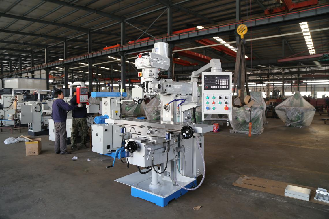 XQ6332C Universal milling head swivel metal turret milling machine