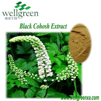 free sample natural Black Cohosh extract Triterpenoid saponins 2.5% in bulk Wholesale natural plant extract