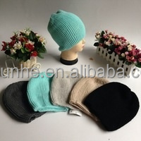 soft & warm cheap price acrylic fashion knit hat factory