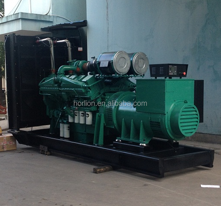 880kw genset with cummins engine KTA38G5 1100kva diesel engine generator dynamo Made in India
