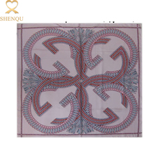 China gold supplier digital printed 90x90cm women fashion hijab head scarf twill silk square scarf