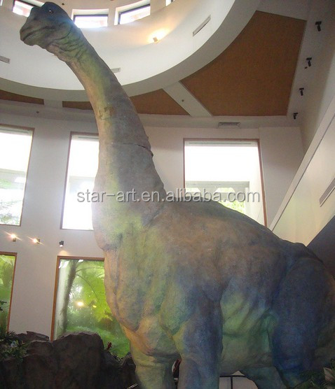 Animatronic life-size museum dinosaurs for exhibition
