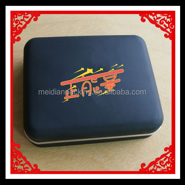 High quality leather handmade coin box storage packing