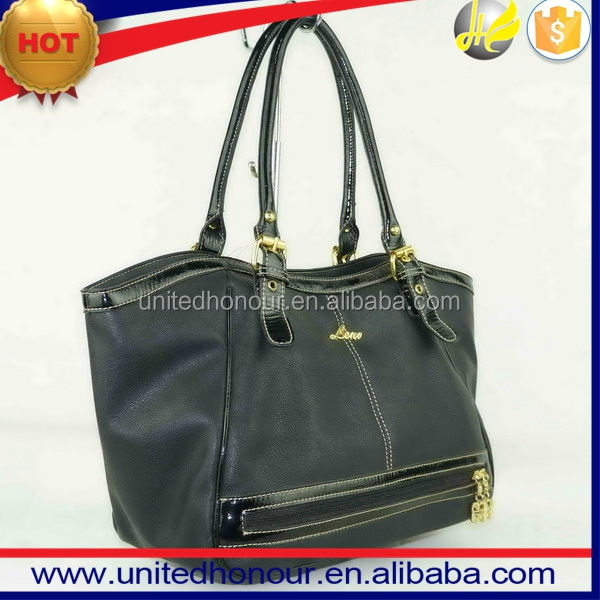 2017 Fashion Women's handbags tote Bag,PU leather Cheap Price Handbag Supplier