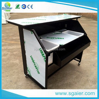 used commercial folding bar counter for sale