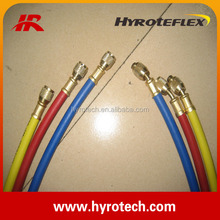 Flexible Industrial Air Conditioning Service Rubber Freon Charging Hose