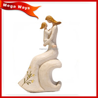 handmade lovely resin figure handicraft for decorations
