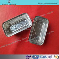Wholesale food containers/disposable food trays aluminium foil