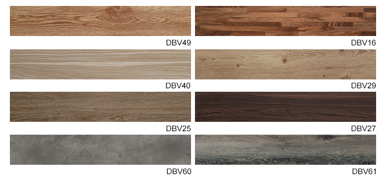 China Wood grain pvc Flooring plank Plastic LVT/SPC/HPL/vinyl Flooring