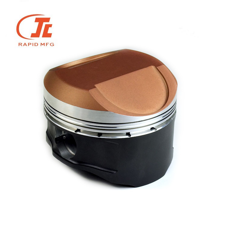 Customized CNC Machining Classical Motorcycle Accessories and Car Spare <strong>Parts</strong>, Coated Pistons