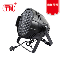 2017 hot sell professional rgbw 54x3w stand led par light led stage lights