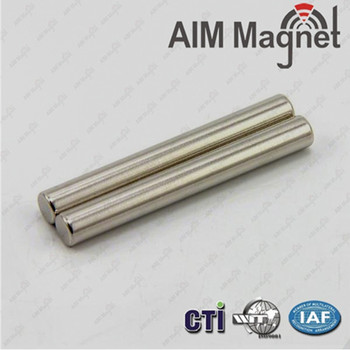 Rare Earth Permanent Neodymium Cylinder Magnet with RoHS (N35)