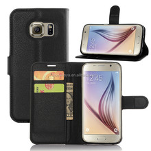 Factory Wholesale PU Leather Case for Samsung Galaxy S7