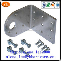 OEM stainless steel small bracket,various metal flat bracket SO9001/RoHS passed