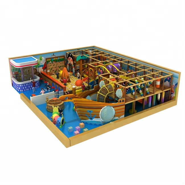 commercial good quality Pirate Ship children indoor playground <strong>equipment</strong>