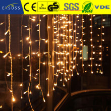 Excellent quality Multicolor Christmas Curtain Lights led rain curtain light