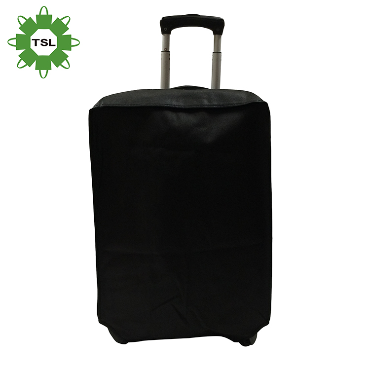 OEM waterproof pvc plastic cover luggage spandex custom durable travel luggage cover