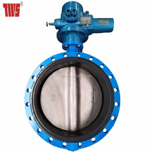 Auma Actuator Automation Water Shut Off Butterfly Valve