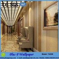 Pvc Wall board 3d Wallpapers For Restaurant Decoration