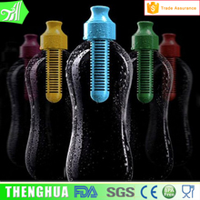 Colorful Big Size Plastic Purifier Water Bottle With Charcoal Filter