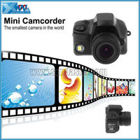 LED 5.0 M Pixels 1280*720P Drivers Mini Digital Camera With Motion Detection
