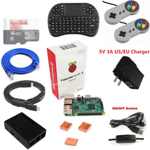 Raspberry Pi 3 Learning Starter Kit with Raspberry Pi 3 Model B + Controller + Paper Box + Wireless Touch Keyboard