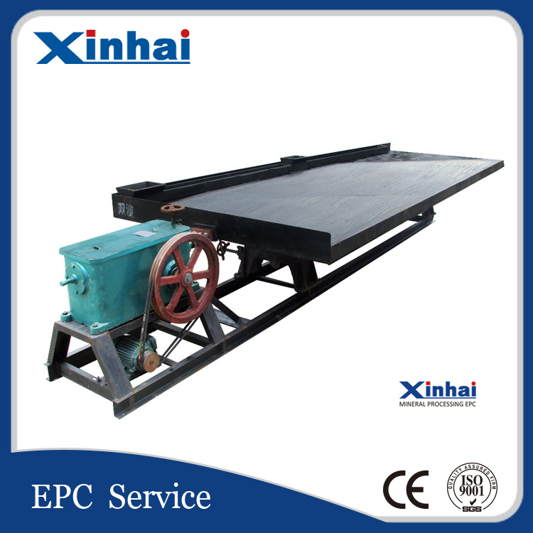 China New Type Durable 6S Series Shaking Table for Gold