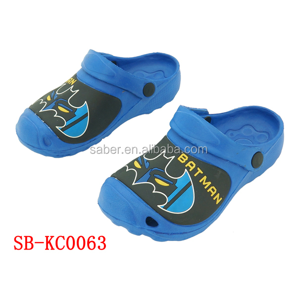 Saber EVA Injection Summer Beach Shoes Kids Chef Clogs