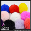 CX-A-23 2016 New Fashion Gray and white Rabbit Fur Ball Pom Poms