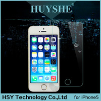 HUYSHE Tempered glass screen protector film for iphone 5 anti scratch screen protector for iphone 5