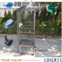 metal mesh round large bird cage