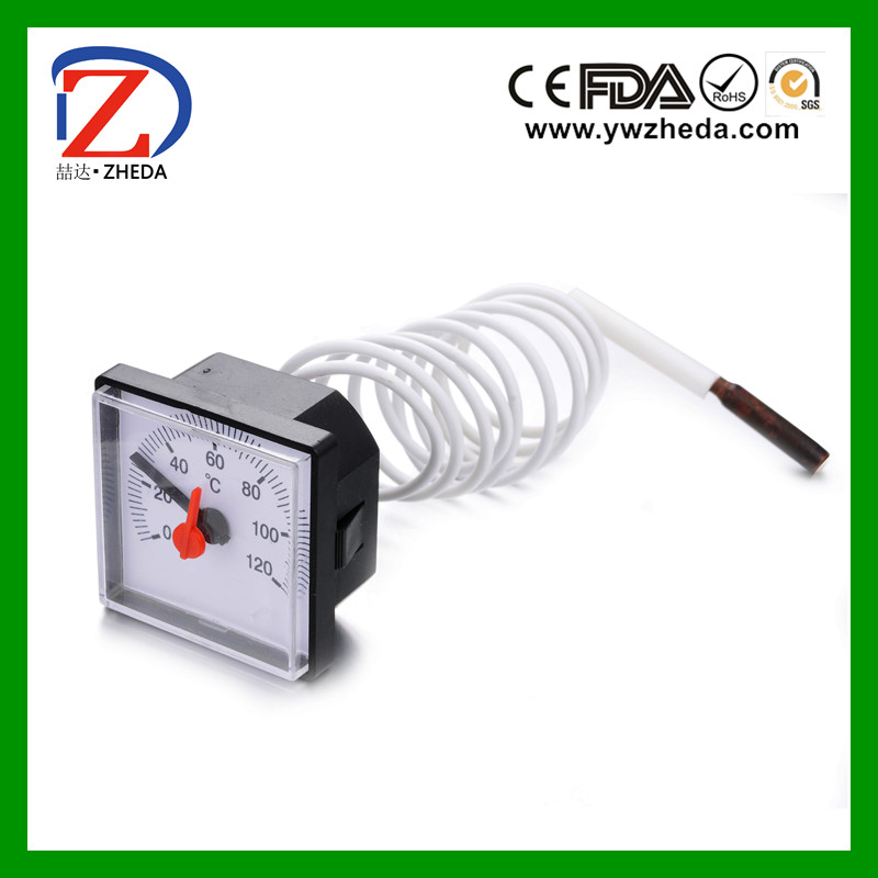 Industrial usage capillary boiler thermometer
