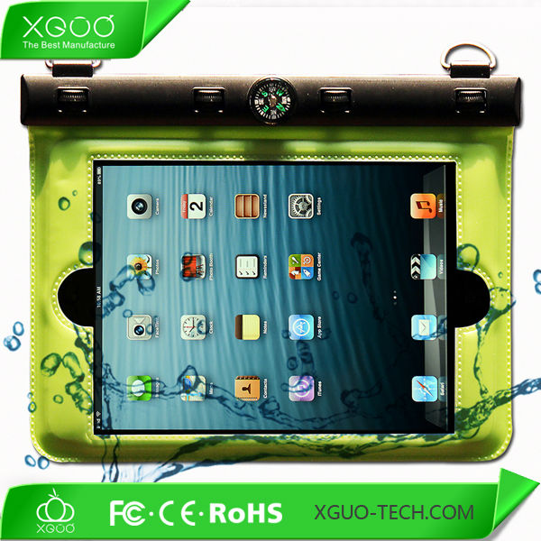 light weight with strap waterproof bag for ipad mini